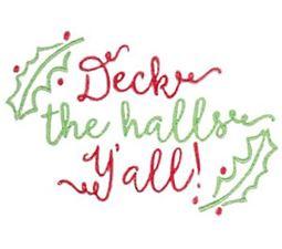Deck The Halls Y
