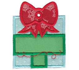 Christmas Tags Applique 3
