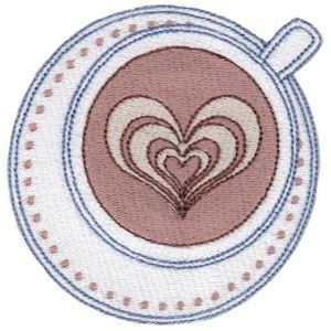 Embroidery Design Set - Coffee Break 1