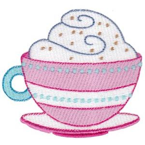 Embroidery Design Set - Coffee Break 15