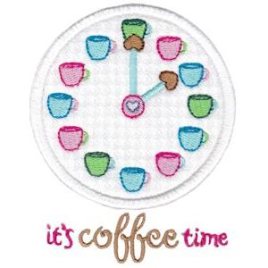 Embroidery Design Set - Coffee Break 5