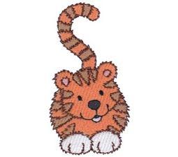 Cuddly Tiger 1