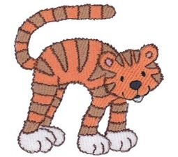 Cuddly Tiger 7