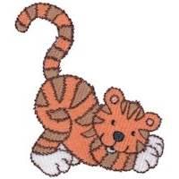 Cuddly Tiger