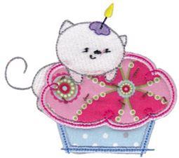Cupcake Critters Applique 11