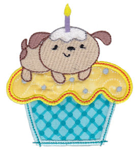 Cupcake Critters Applique 2