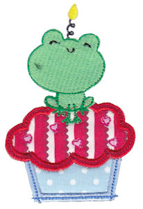 Cupcake Critters Applique 3