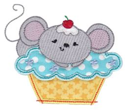 Cupcake Critters Applique 5