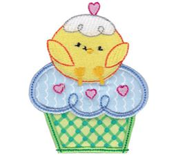Cupcake Critters Applique 7