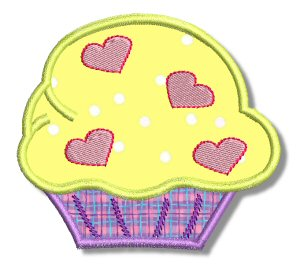 Cupcakes Applique 1