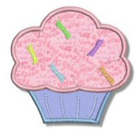Cupcakes Applique