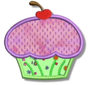 Cupcakes Applique 5