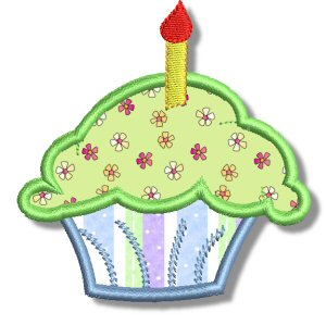 Cupcakes Applique 7