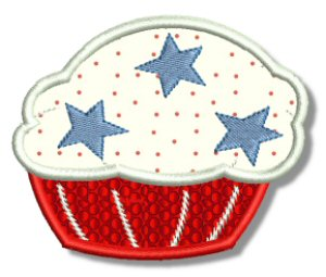 Cupcakes Applique 8