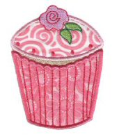 Cupcakes Applique Too