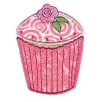 Cupcakes Applique Too