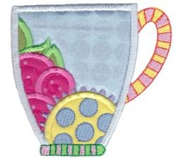 Cup Collection Applique 14