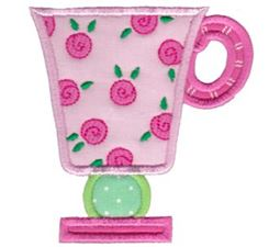 Cup Collection Applique 4