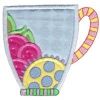 Cup Collection Applique