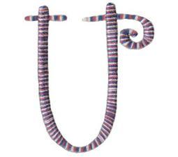 Curlz Alphabet U
