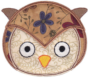 Cute Animal Faces Applique 20