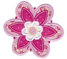 Cute Flower Applique 11