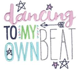 Dancing To My Own Beat
