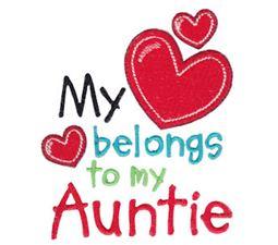 My Heart Belongs To My Auntie