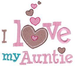 I Love My Auntie
