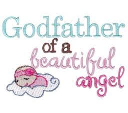 Godfather Of A Beautiful Angel Girl