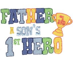 Father A Sons First Hero
