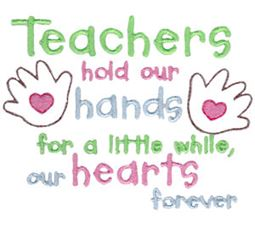 Teachers Hold Our Hands