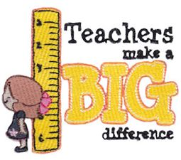 Teachers Make A Big Difference Girl