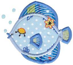 Decorative Sea Creatures Applique 5