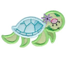 Decorative Sea Creatures Too Applique 10