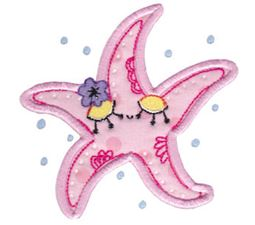 Decorative Sea Creatures Too Applique 7