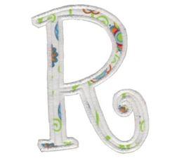 Delicious Applique Alphabet r