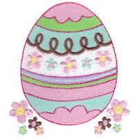 Embroidery Design Set - Easter Fun