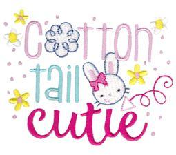 Cotton Tail Cutie