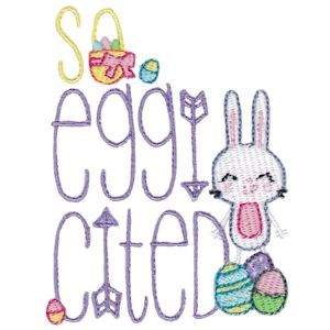 Embroidery Design Set - Easter Sentiments Too 9
