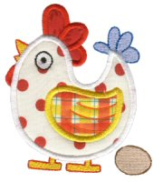 Feathered Friends Applique
