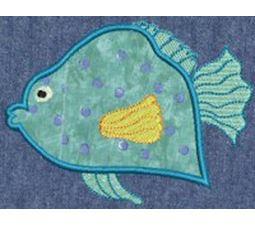 Fishies Applique 4