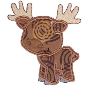 Embroidery Design Set - Forest Animals Applique 12