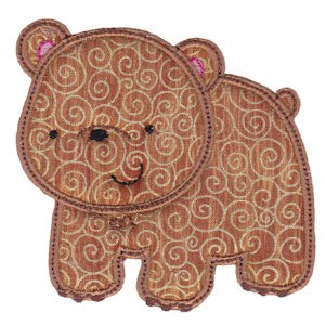 Embroidery Design Set - Forest Animals Applique 7