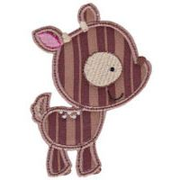 Embroidery Design Set - Forest Animals Applique