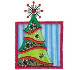 Framed Christmas Moments Applique 11
