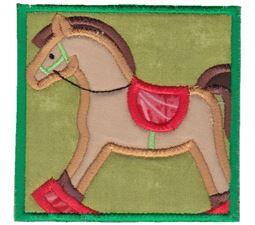 Rocking Horse Applique