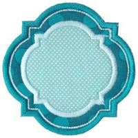 Embroidery Design Set - Frame It Applique