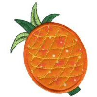 Embroidery Design Set - Fruit and Veg Applique