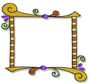 Machine Embroidery Designs Fun Frames And Borders